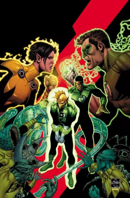 New Comics Week 7/12/17: In Which the Green Lantern Corps Gets Back to Basics