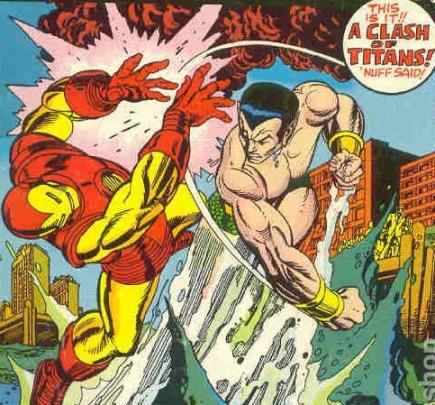 So Sayeth the Odinson: Great Rivalries in Comics History: Iron Man vs.Sub-Mariner