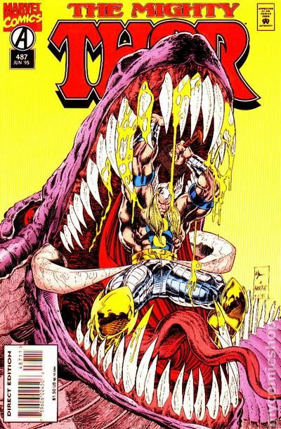 So Sayeth the Odinson: Cover Motif: In the Jaws of Death
